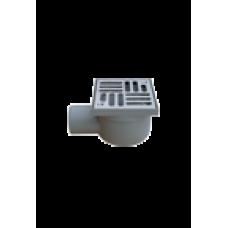 04224 сливной трап горизонтальный нержавейка EUROPLAST