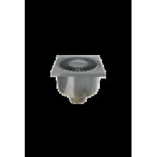 00775 канализационный трап вертикальный пласт. хром EUROPLAST