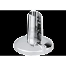 Розетка хром пластиковая удлиненная 10-16 мм разборная Go-Plast