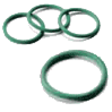 11509070V SteelPres прокладка уплотнительная FKM (зеленая) 90,4x7,0